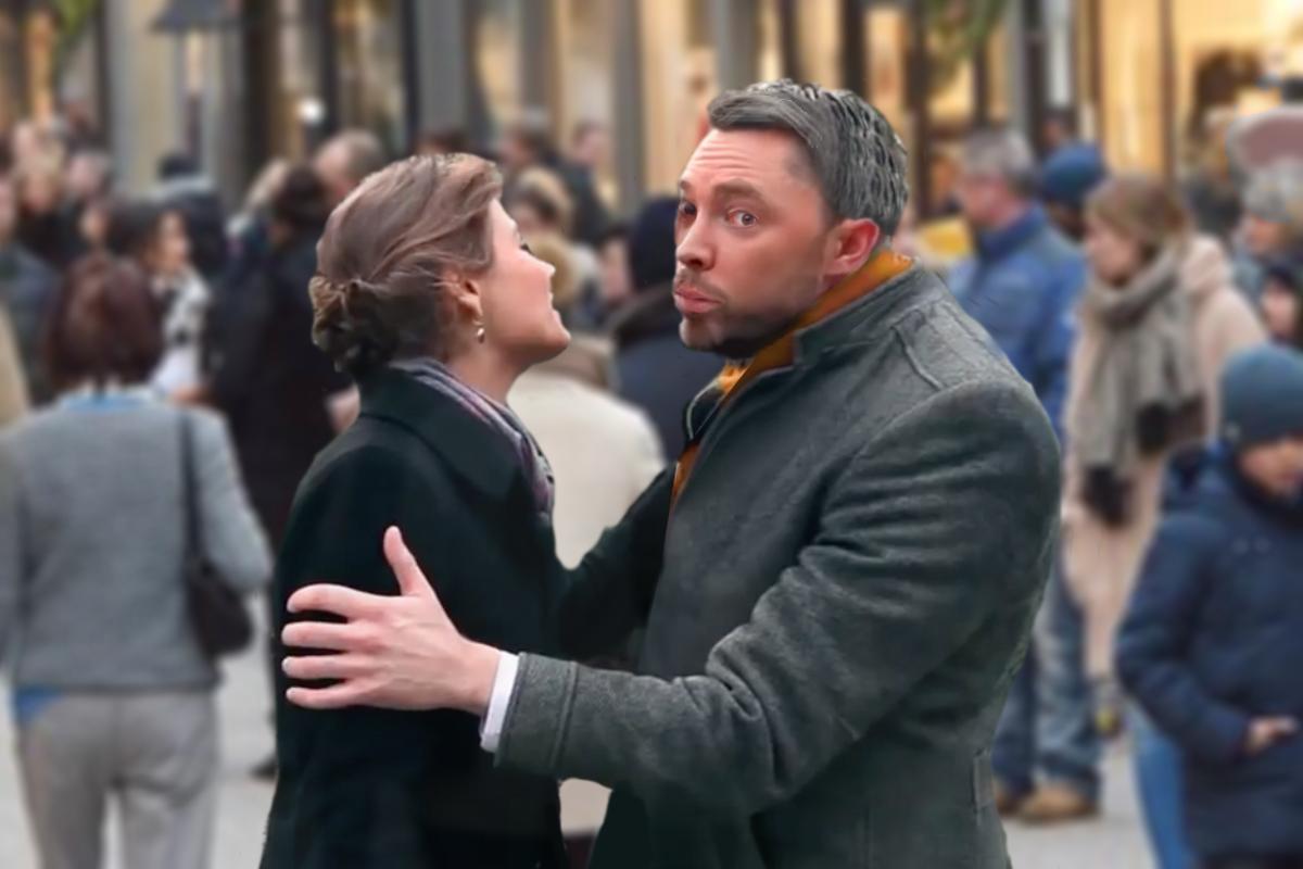 Luxembourg kissing custom