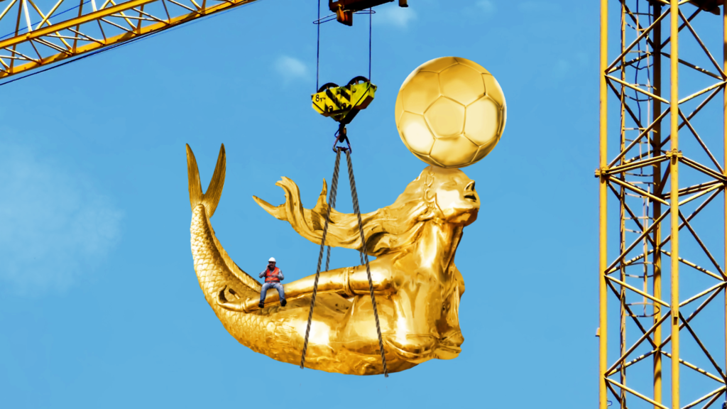 Golden Melusina in Luxembourg